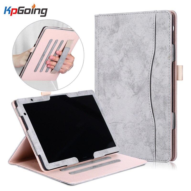 PU Leather Case For Huawei MediaPad M5 Lite 10 Tablet Case For Huawei MediaPad T5 10 AGS2-W09/L09/L03/W19 10.1