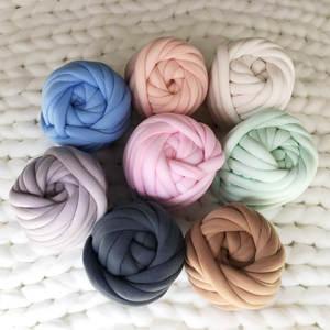 Chunky Knit Blankets-Tube Tube-Yarn Hand-Knitting Throws Vip-Link Washable