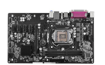 Desktop Motherboard USED Asrock H81 Pro BTC  H81 LGA 1150 i3 i5 i7 DDR3 16G SATA3 USB3.0 6PCI-E