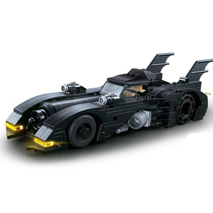 Новая маленькая Бэтмобиль 1989 Мстители 4 Бэтмен колесница супер герой Супермен, герои наборы строительные блоки Модель Marvel игрушки