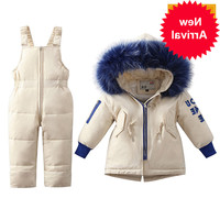 Children Clothing Winter Sets Girls Warm Duck Down Jacket for Baby Girl Clothes Children's Coat for Boy Snow Wear Kids Suit