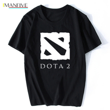 Defense of The Ancients T Shirt Men Dota 2 Man T-Shirt Multiplayer Game Male Cotton O Neck Camisetas Team Tees Camiseta