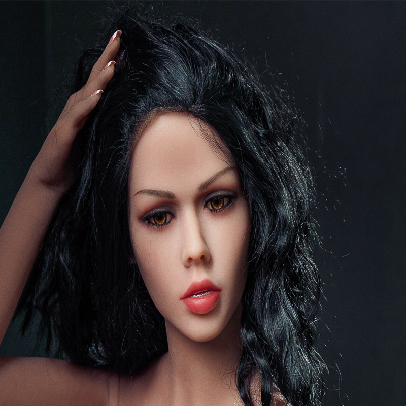 Oral <font><b>Sex</b></font> Realistic <font><b>Sex</b></font> <font><b>Doll</b></font> Head Tpe <font><b>Sex</b></font> <font><b>Doll</b></font> Heads For Lifelike Love <font><b>Doll</b></font> From <font><b>135CM</b></font> To 175cm <font><b>Doll</b></font> Height image