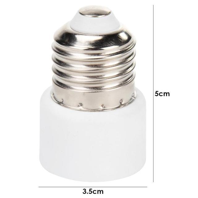 #Z B E27 Lamp Bulb Base Hanging Screw Type Light Socket Home Office Supply