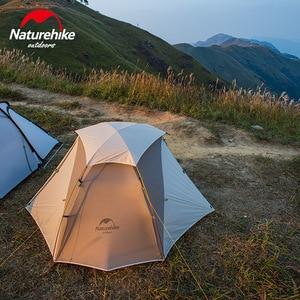 Image 2 - Naturehike 2019 sürümü bulutsusu 2 çadır Ultra hafif çift yerleşik çadır kamp rüzgar yağmur soğuk ve Blizzard vahşi kamp çadırı