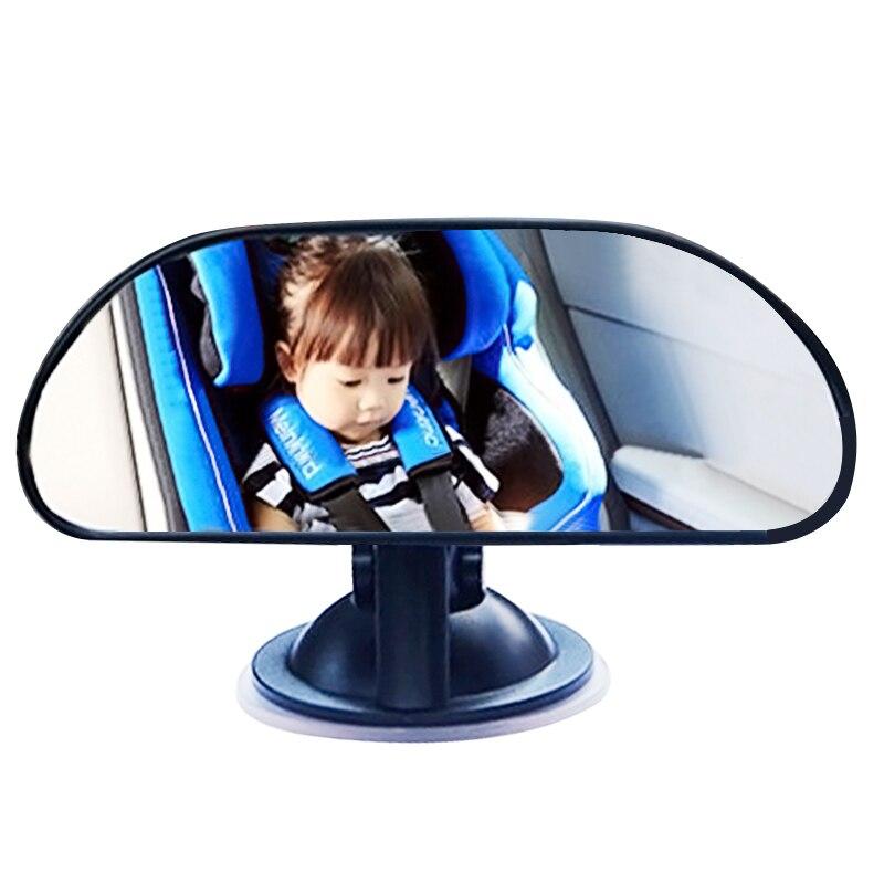 Регулируемое Автомобильное зеркало заднего вида, вращающаяся присоска, Детские зеркала, автомобильное заднее сиденье, детское зеркало заднего вида, внутренние детали