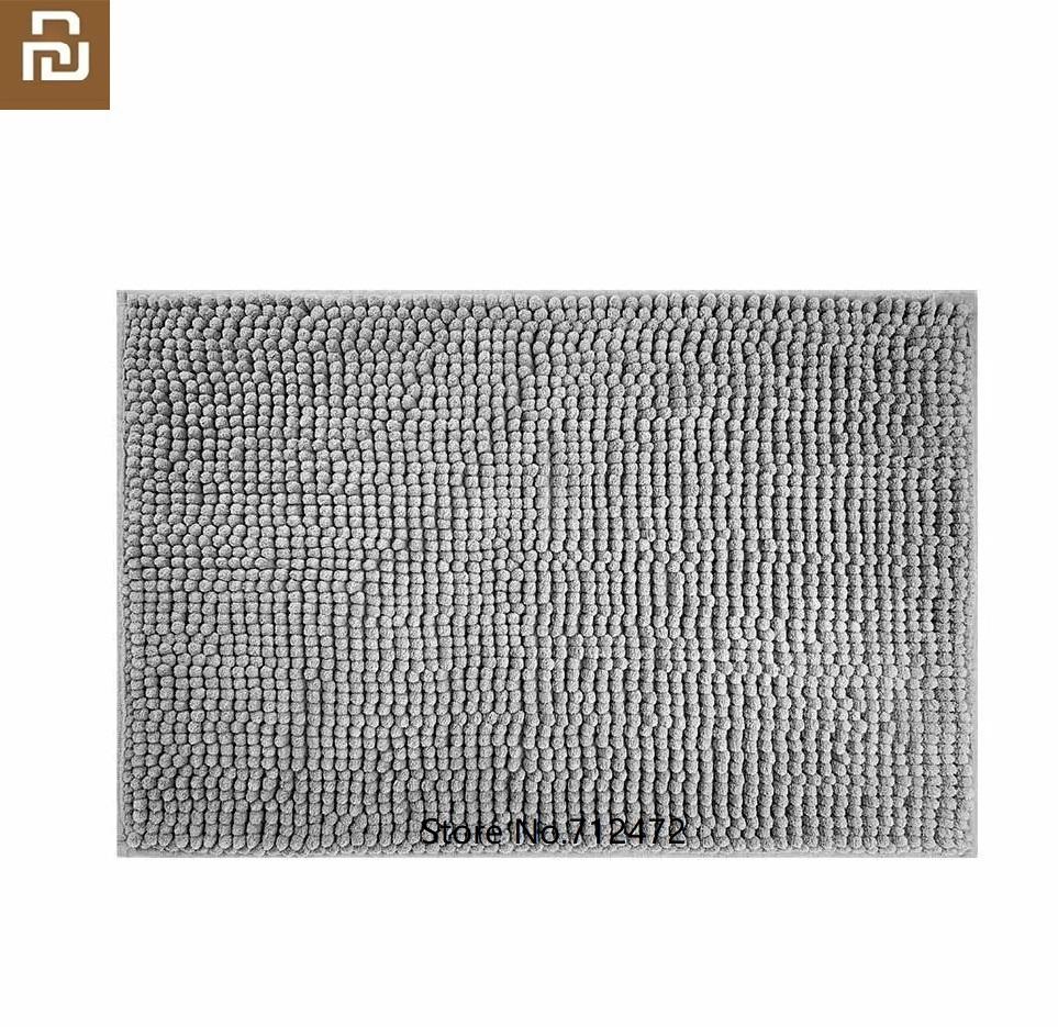 Youpin Super Absorbent Floor Mat Soft Bath Mat Multi-use Toilet Bathroom Anti-slip Mat Living Room Carpet