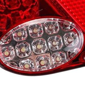 Image 5 - ضوء خلفي للسيارة LED ، مصباح الفرامل الخلفي ، إشارة الانعطاف للشاحنة ، مقطورة ، الشاحنة ، 12 فولت ، 2 قطعة