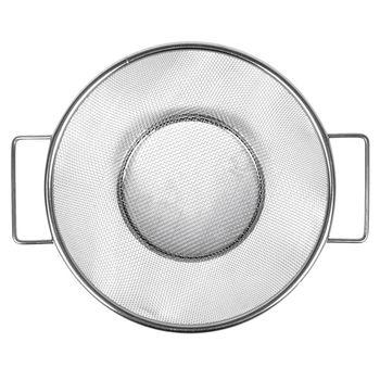 New Stainless Steel Fine Mesh Strainer Bowl Drainer Vegetable Sieve Colander Sifter