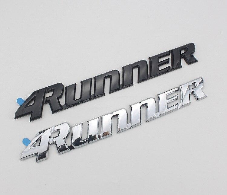 1 шт., автомобильный Стайлинг, 25*3,5 см, высококачественный АБС-пластик, 4 бегуна, эмблема заднего багажника, боковые логотипы, автомобильные на...