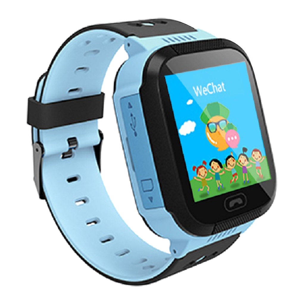 Anti-lost Positioning Kids Smart Watch Touchscreen SOS GPS Tracker Watch Wrist For Android IOS Phone Watch Children Boys Girls