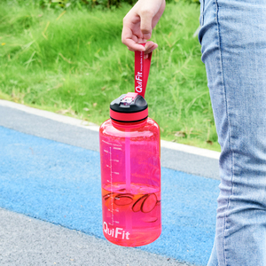 Image 5 - BuildLife 1.3L 2L Tritan Water Bottle With Straw Time Marker BPA Free Sports Fitness Jug Outdoor Gym Insulation Bottles