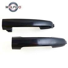 WOLFIGO 2Pcs Vorn Hinten Links Rechts Außerhalb Tür Griff 82651-3K000 826513K000 für Hyundai Sonata 2006-2010