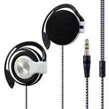 Universal 3.5mm Plug with wire Clip On Ear Sports Earphone H