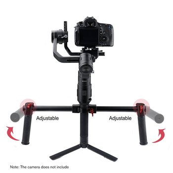 Aluminum Alloy Dual Handheld Camera Stabilizer for STARTRC DJI Ronin SC Gimbal Stabilizer Mount Accessories