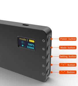 Image 5 - VILTROX Weeylife RB08P RGB 2500K 8500K Mini wideo LED światło przenośne światła wypełniającego wbudowana bateria do aparat fotograficzny Studio