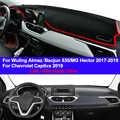 Tampa do Painel Do carro Traço Mat Tapete Para Hector Almaz Wuling Baojun 530 MG 2017 2018 2019 Chevrolet Captiva 2019 LHD RHD Dashmat
