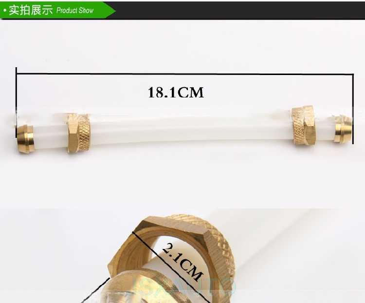 Voor KOMATSU 60 120 200 220 240-6-7-8 Graafmachine Accessoires Graafmachine hydraulische olie gauge display buis pomp peilstok
