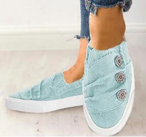 Women Shoes New Arrival Fashion Denim Women Casual Shoes Femme Tennis Feminino Canvas Shoes Woman Sneakers 2020 New