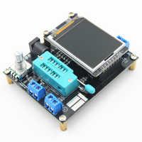 1pc GM328A Generator Wellenform Diode Kapazität LCD Display Platz Signal Meter Induktivität ESR Einfach Bedienen Transistor Tester
