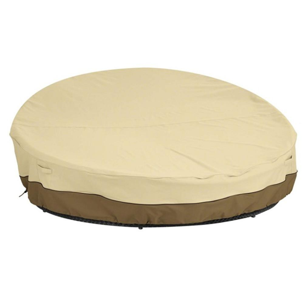 Patio Sofa Bed Covers Waterproof Outdoor Furniture Dust Cover UV Protection Folding Garden Household Dust Proof Cover