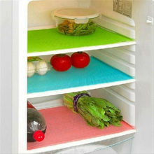 4 шт. Многофункциональный водонепроницаемый Антибактериальный коврик для холодильника