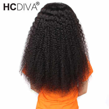 13*4 Lace Front Human Hair Wigs For Women Malaysian Afro Kinky Curly Wig 180% Remy Human Hair Wigs Pre Plucked With Baby Hair - DISCOUNT ITEM  61% OFF All Category