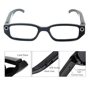 Camera Smart Glasses Video 1080P Mini Driving Record Glasses Outdoor Sports Glasses Light-weight Eyewear Camcorder For Adult