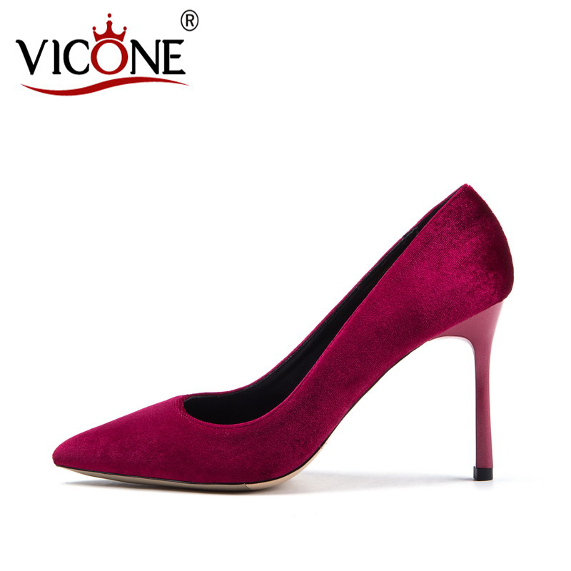 VICONE Women's pointed high heels V10233