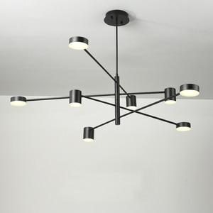 Image 2 - Ресторанные потолочные светильники, лампа для гостиной, спальни, столовой, кухни, осветительные приборы, светодиодный потолочный светильник в скандинавском стиле