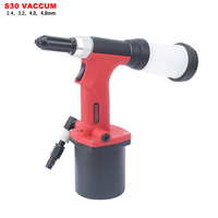 YOUSAILING High Quality Pneumatic Blind Riveter Air Rivet Guns Industrial Level Vacuum 2.4 4.8mm Red Color