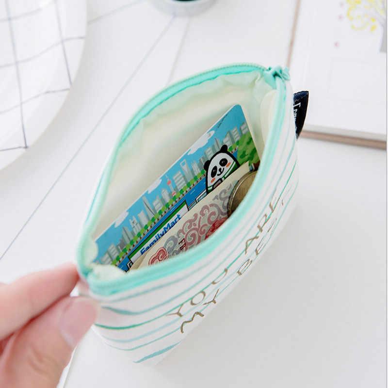 عملة مخلب محفظة صغيرة المال الحقيبة تغيير المحفظة الحلوى الخضراء إلكتروني الطباعة بسيطة سماعة سماعة خط حزمة الفتيات حقائب اليد