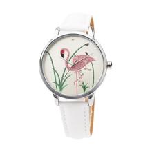 TPW feminino women watches Stripe Floral Cloth Band Clock Dial Bracelet Quartz Wristwatch erkek kol saati Montre Femme 2018