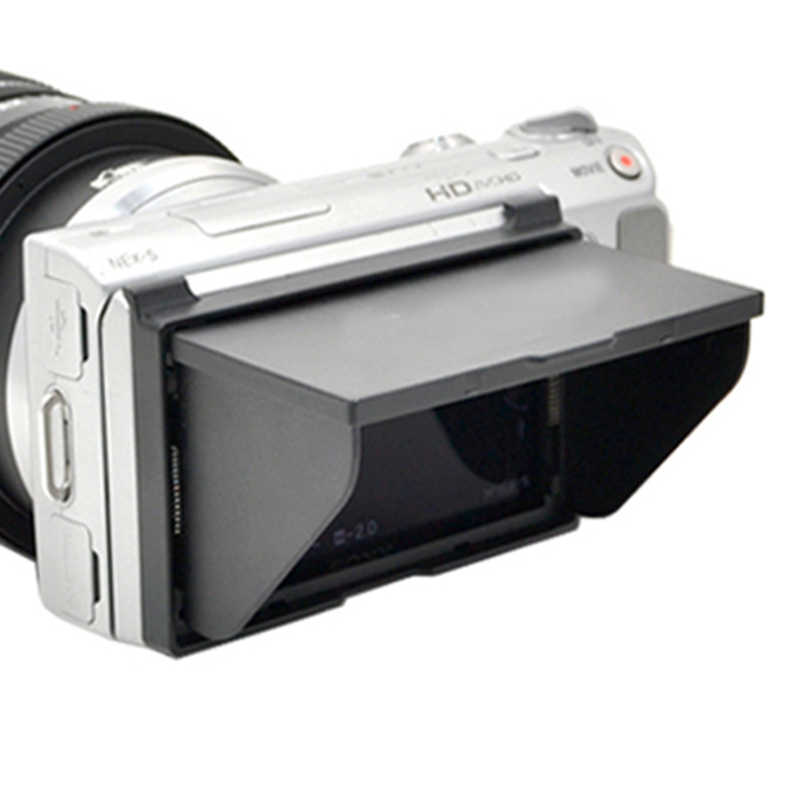 ยี่ห้อใหม่ LCD Hood LCH-NEX3/5 สำหรับ Sony NEX-3 และ NEX-5 กล้อง