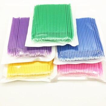 5/100 PCS Disposable Makeup Cotton Swab Mini Individual lash Applicators Mascara Brush Eyelash Extension For Maquillaje Makeups 1