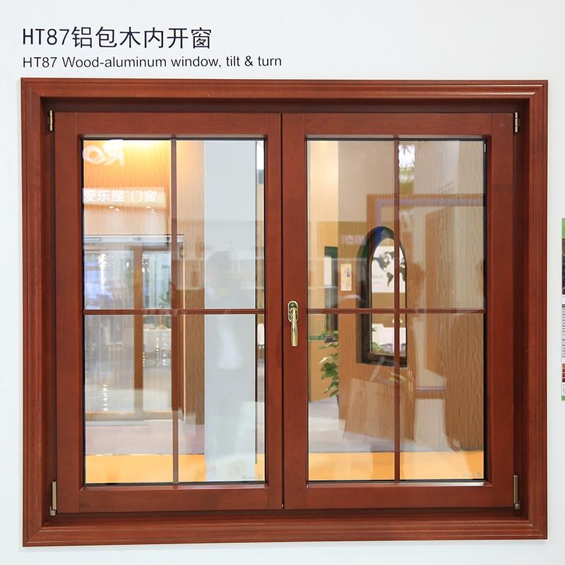 Hench China Wooden Aluminum Doors Windows  Bi-folding Doors Wholesale Factory Hc-a2