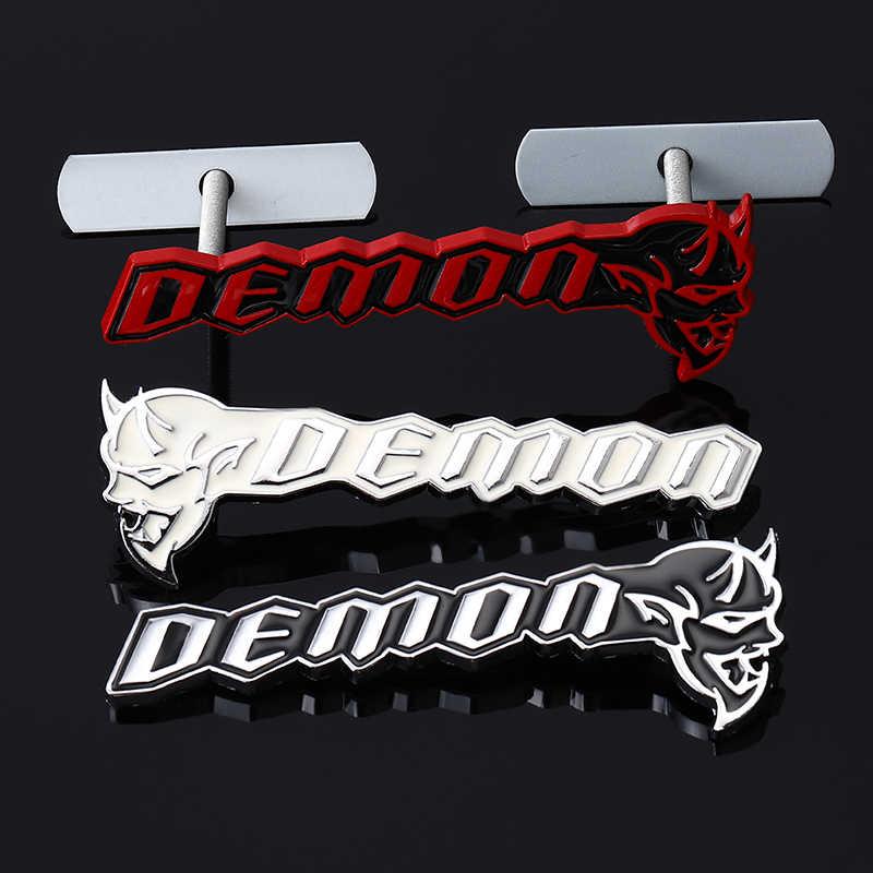 3D Metal SRT8 Super Bee Logo Car Front Grille Badge Auto Grill Emblem For Dodge Charger