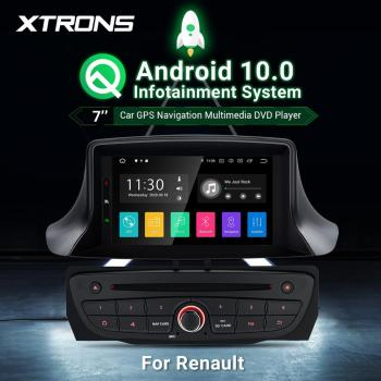 7 Android10.0 Car DVD Player multimedia for Renault Megane 3 III Fluence 2007 2008 2009 2010 2011 2012 2013-2015 Radio GPS WIFI image