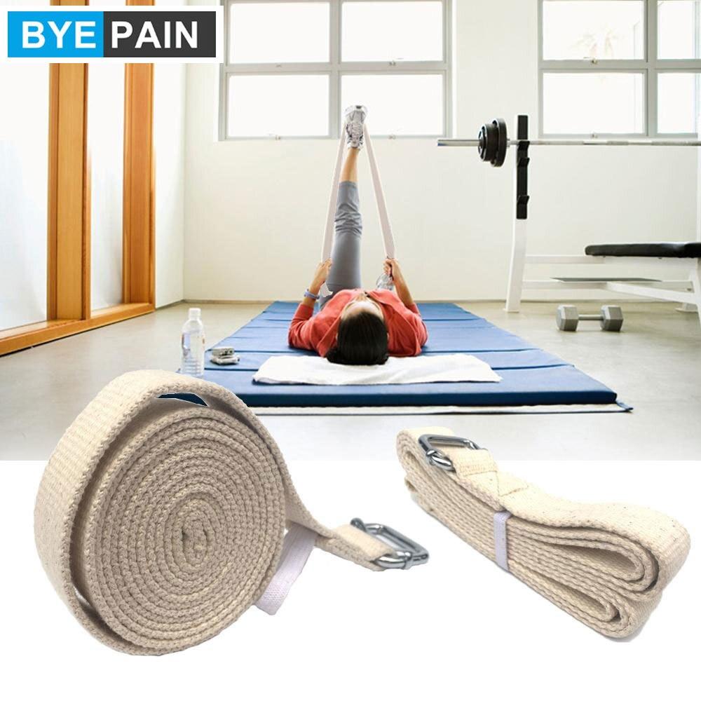 1 шт. 10 футов регулируемый спортивный растягивающийся ремень с двумя кольцами, обеспечивающий гибкость при растяжении йоги, физической тера...