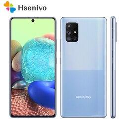 Оригинал, Samsung Galaxy A71 5G A7160 Dual Sim 8 Гб оперативной памяти 128 ГБ ROM 6,7 дюймExynos Восьмиядерный мобильный телефон 4 камера NFC сотовый телефон