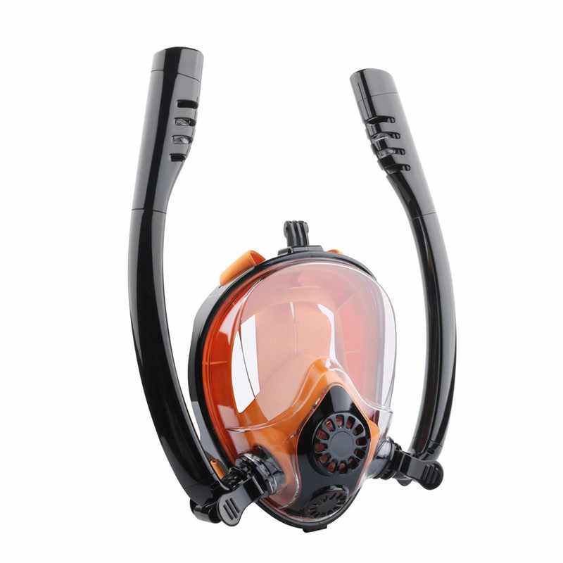 Professionele Duiken Masker en Snorkels Anti-Fog Bril Bril Duiken Zwemmen Gemakkelijk Adem Buis Scuba Masker Apparatuur