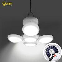 Lampa kempingowa latarka LED lampa akumulatorowa lampa kempingowa latarka do namiotu z akumulatorem latarnia solarna LED