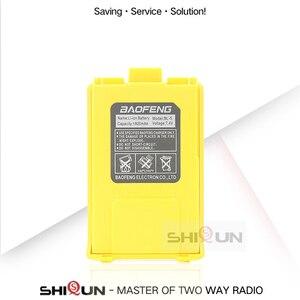 Image 3 - 4 pces ou 10 pces UV 5R bateria original baofeng walkie talkie acessórios para baofeng uv 5r 1800mah rádio 7.4v li ion bateria uv5r