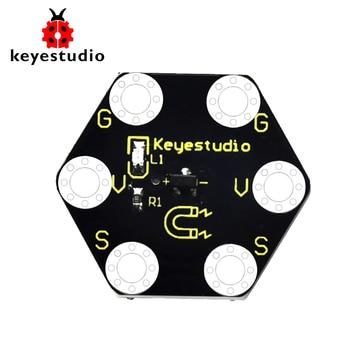 Keyestudio Micro bit Honeycomb Hall Magnetic Sensor for  BBC Micro Bit недорого