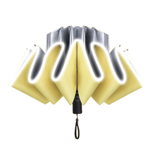 Windproof Reverse Umbrella For Men 10 K Auto Business Car Women Fold Sun Anti-UV Automatic Male Paraguas