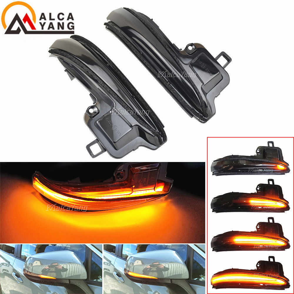 Alphard Vellfire AH30 2016-2019 Tacoma Black Customized Side Rear View Mirror Indicator Blinker Repeater Dynamic Turn Signal Light LED Replacement for Toyota RAV4 2019 2020
