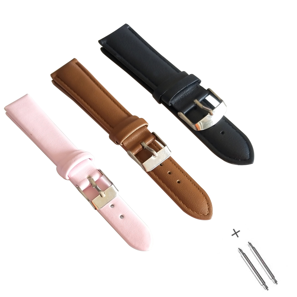 Permalink to Watch Band for Women Handmade Leather Watch Straps Men and Women Straps Watch Accessories Watch Band  14mm 18mm 20mm 22mm