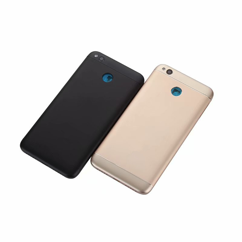 Redmi4X Original Housing For Xiaomi Redmi 4X Metal Battery Cover Repair Replace Back Door Rear Case + Logo Buttons Camera Lens