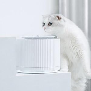 Image 2 - Youpin Thông Minh Mèo Thú Cưng Nước Nước 1.88L 5 Lớp Lọc 360 Độ Mở Uống Khay Động Vật Vòi Nước Uống