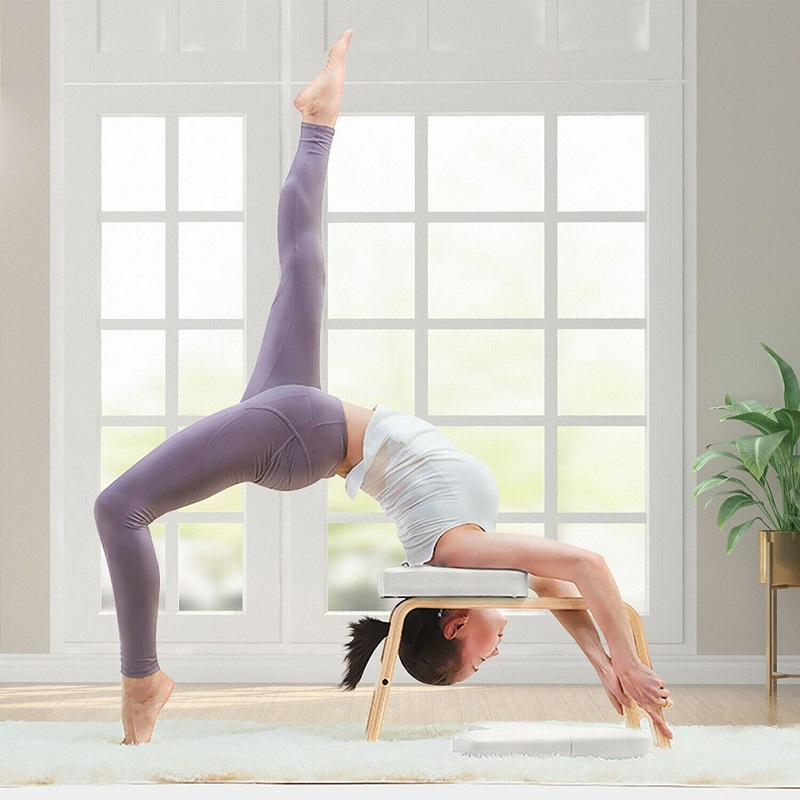 Стул для йоги Selfree, Сверхлегкий стул для йоги, Инверсионная скамейка, набор для фитнеса, два цвета, Прямая поставка Встроенные тренажеры      АлиЭкспресс